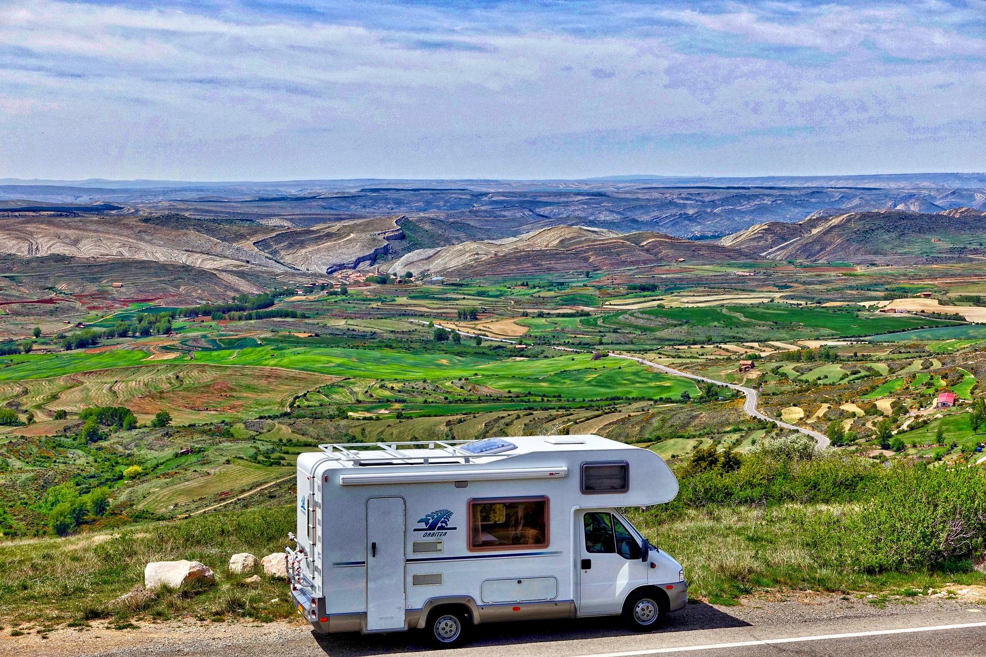 Planowane podróże kamperem